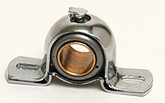 "Chrome Steering Shaft Bearing, 7/8"", Each"