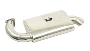 Phat Boy Muffler, Ceramic Coated - Fits P/N: 3699 / 7320 / 55-73