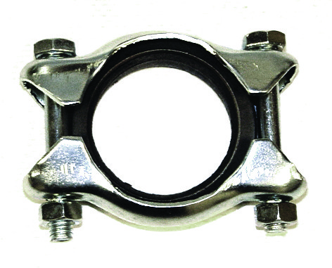Tail Pipe Clamp, Type 1 56-74, Ghia 56-74, Each