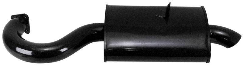 Phat Boy Muffler, Black - Fits P/N: 3699 / 7320 / 55-7320
