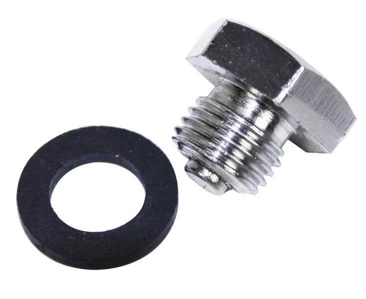 Chrome Magnetic Drain Plug
