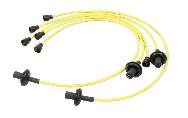 Sparkplug Wires Yellow, 7Mm