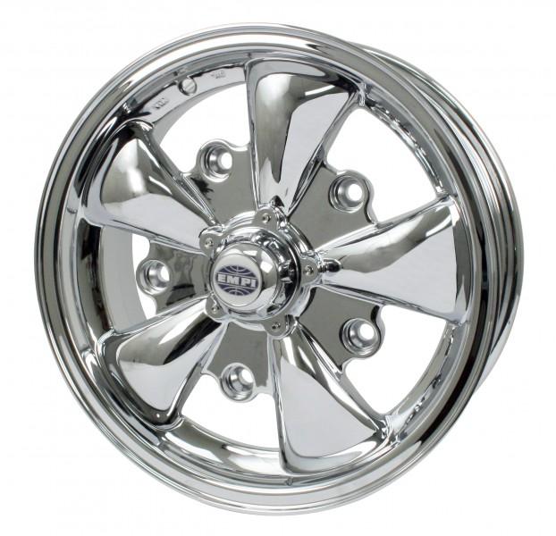 "EMPI 5 Spoke Wheel 5.5"" X 15"" Chrome"