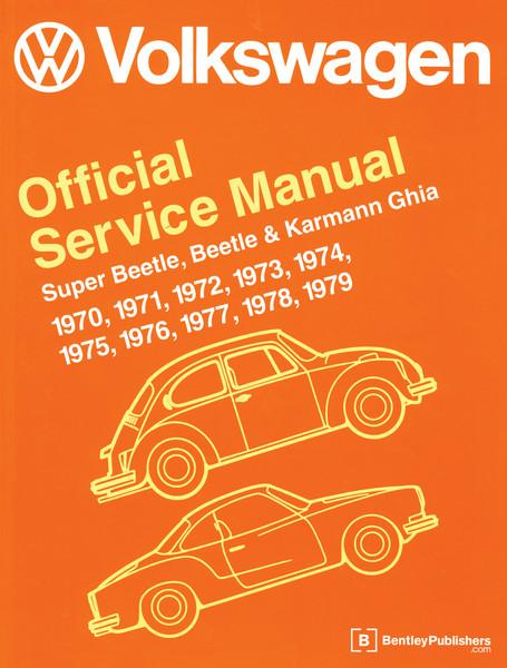 Bently Manua T-1 & Ghia 70-79