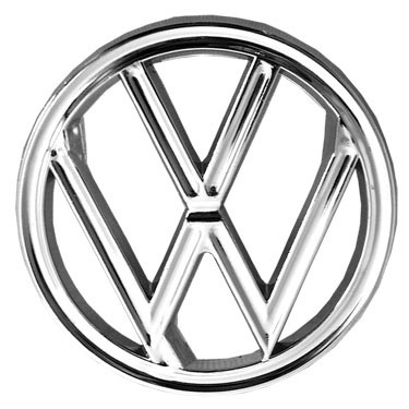 Badge Vw Atop Hood Early 60/64