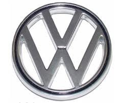 Emblem Vw Atop Hood Late 65/79