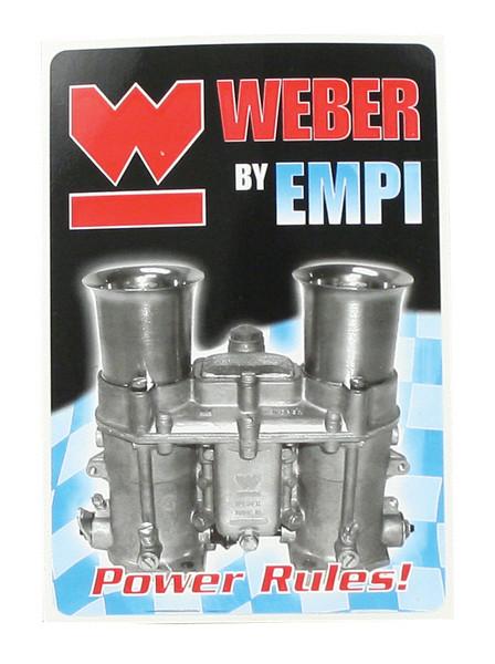 EMPI Weber Decal