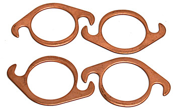 "Copper Exhaust Gasket 1 3/4"" 4 Pc"