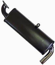 Single Quiet Pack Muffler Type I & Ii