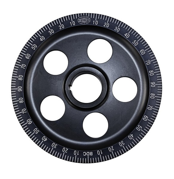 Stock Size Black Anodized Pulley
