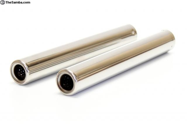 Stainless Tailpipes Pair