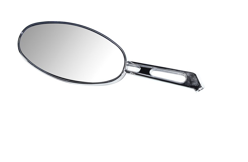 Chrome Oval Sand Rail Mirror L